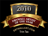 Drywall Artist Of The Year Award