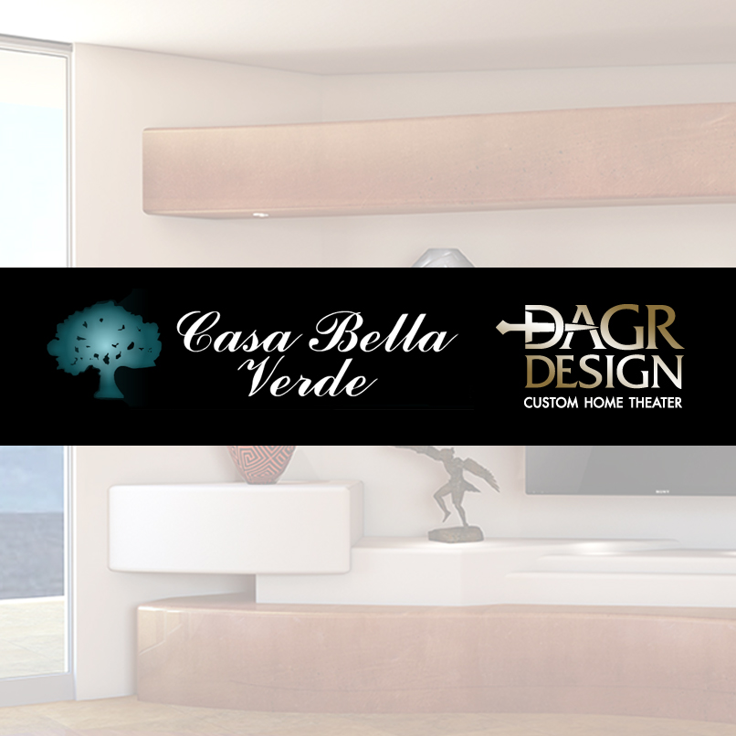 Casa Bella Verde Media Wall Designs - Sneak Peek