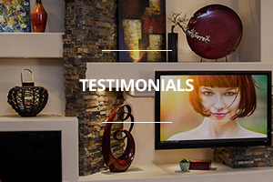 Customer testimonials for DAGR Design promo graphic