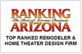 Ranking Arizona Top Ranke Remodler & Home Theater Design Firm Award - DAGR Design
